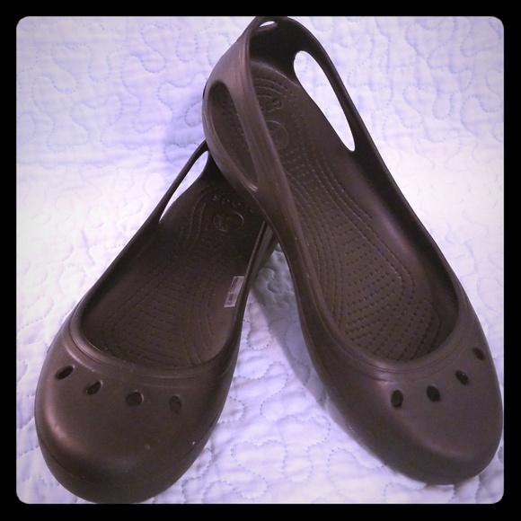 7ab45e37c0bd72 CROCS Shoes - Women s Sz 11 Kadee Work Flat Black NWOT